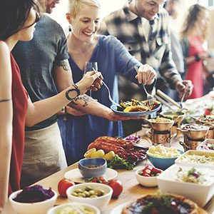 Hosting a Big Party? Here's How Much Food to Serve