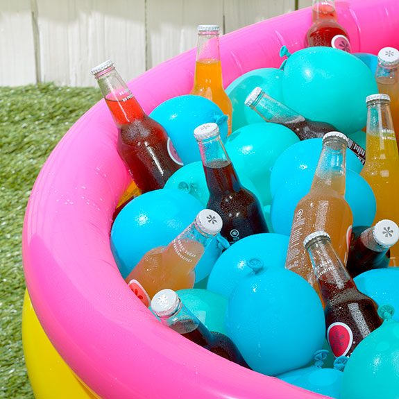 Check Out This Genius Way to Chill Drinks for Your Next Backyard Party