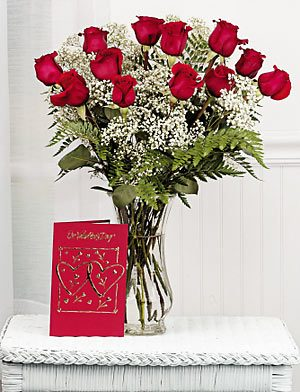 Red Roses Flower Arrangement