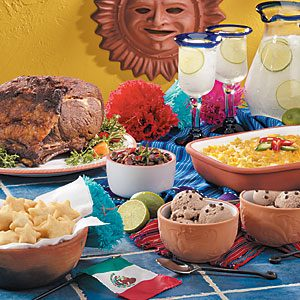 Group photo of five Cinco de Mayo recipes