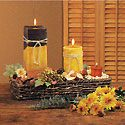 Harvest Candle Centerpiece Photo