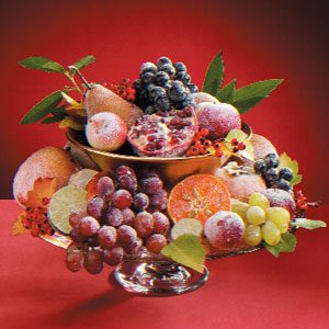 Sugared Fruit Recipe