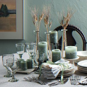 Sheaves of Wheat Centerpiece