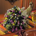 Floral Cornucopia Centerpiece Photo