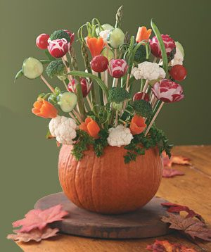 Autumn Pumpkin Centerpiece