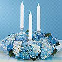Hydrangea Centerpiece Photo