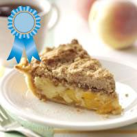 1st Place  --  Sour Cream Peach Pecan Pie
