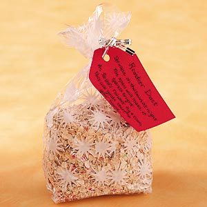 Reindeer Food Party Favor