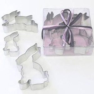 Rabbit Shaped Cookie Cutter Set