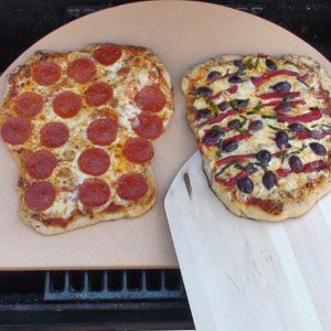 Pizza Stone and Peel