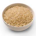 Long-grain brown rice
