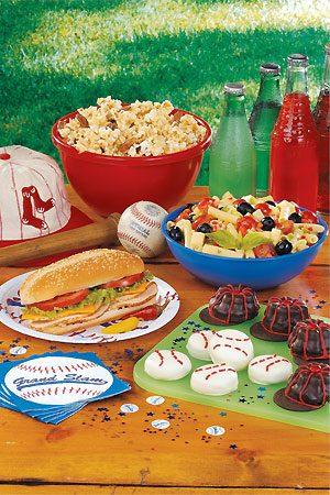 Baseball Theme Is Grand Slam
