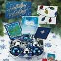 Christmas Card Centerpiece Photo