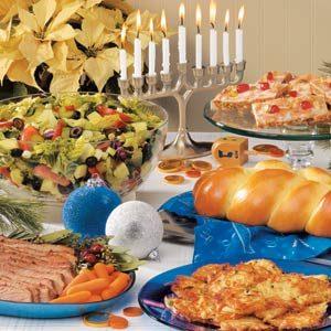 Hanukkah Meal