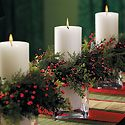 Christmas Candle Holders Photo
