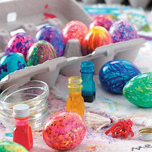 How to Make Your Own Easter Egg-Painting Brushes