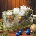 Fire-and-Ice Holiday Centerpiece Photo