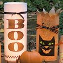 Halloween Luminarias Photo
