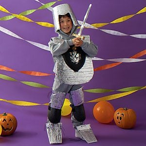 Silver Knight Halloween Costume