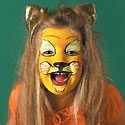 Lion Face Painting Photo
