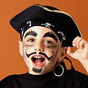 Pirate Face Painting Photo