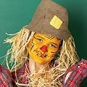 Scarecrow Face Painting Photo