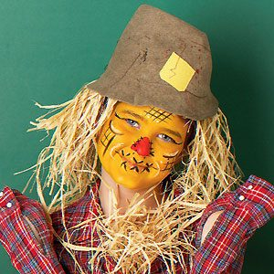 Scarecrow Face Painting
