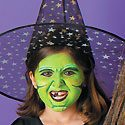 Witch Face Painting Photo