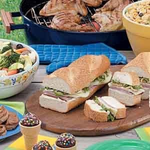 We Have Ideas For A Reunion Picnic Including Picnic Recipes And Food For A Crowd