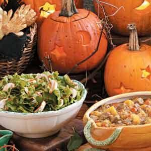 Halloween meal