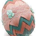 Easter Ribbon Egg