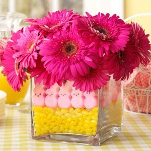 Easter Peeps Centerpiece Photo