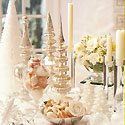 White Christmas Table Photo