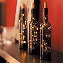 Wine Bottle Lights Photo
