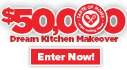 $50,000 Dream Kitchen Makeover