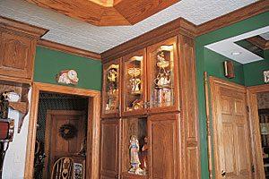 glass cabinet photo