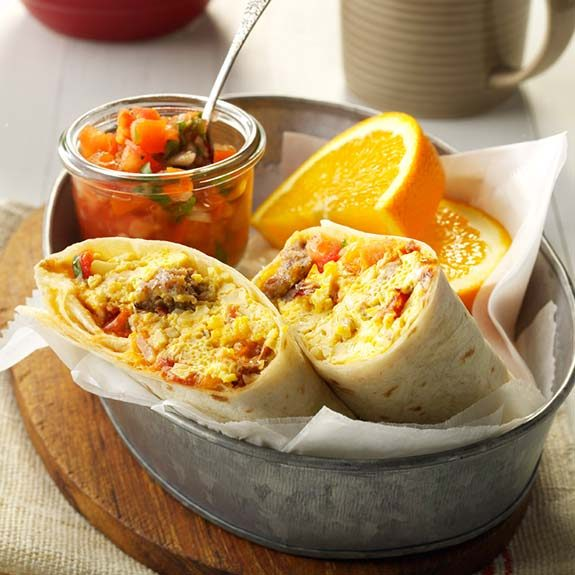 Breakfast Burrito Recipes