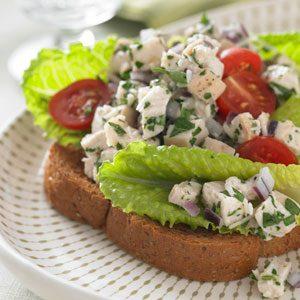Chicken Caesar Salad Sandwich