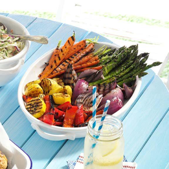 10 Best Grilled Vegetables