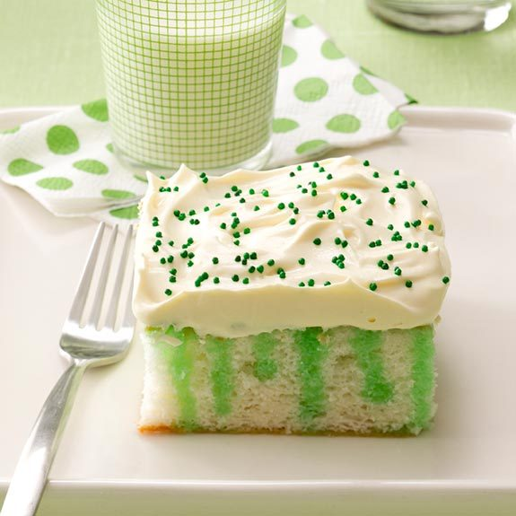 Green Food to Celebrate St. Patrick's Day