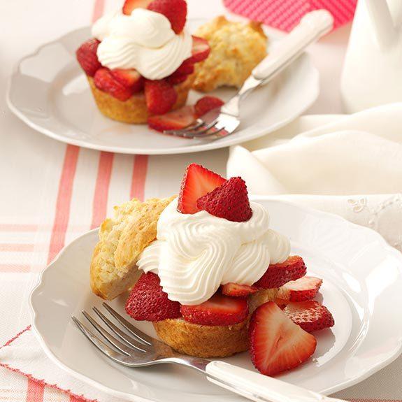 Strawberry Shortcake Recipes