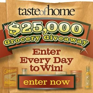 $25,000.00 Grocery Giveaway
