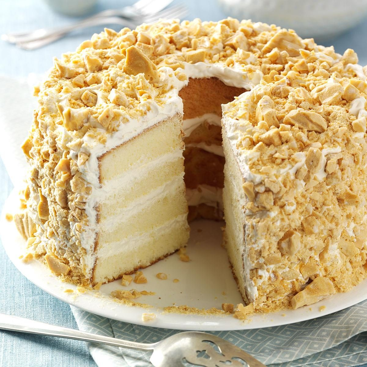 Italian Almond Torte Cake Recipe