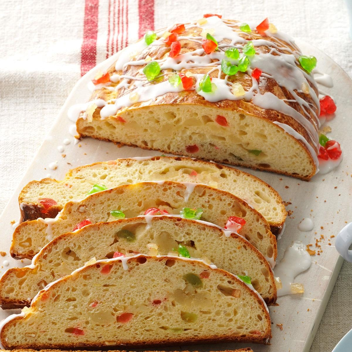 44 german christmas foods taste of home almond filled stollen forumfinder Image collections