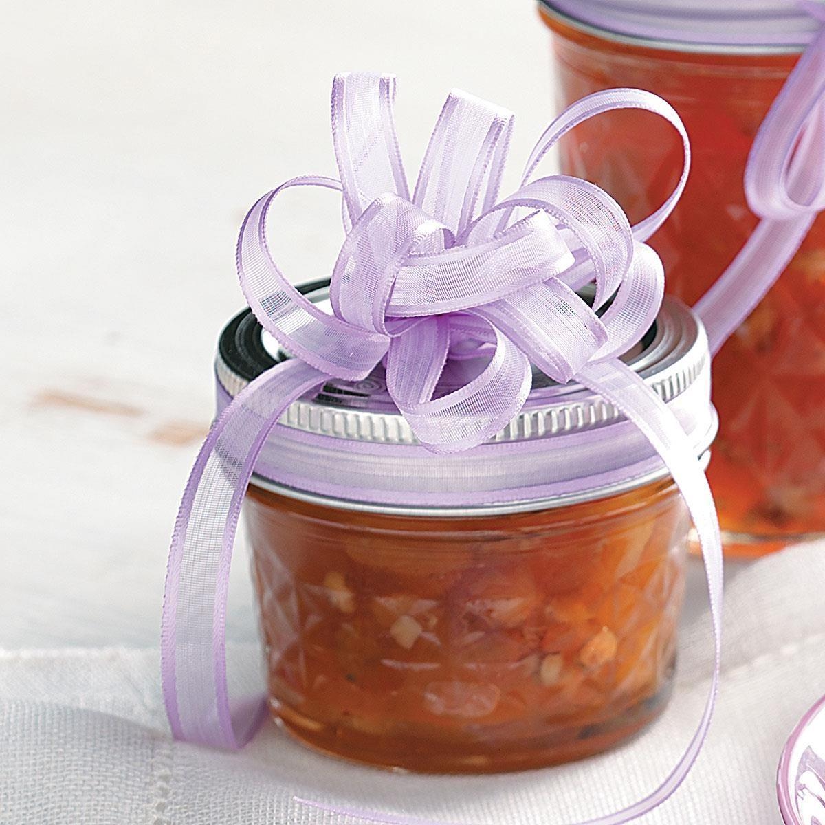Amaretto-Peach Preserves Recipe