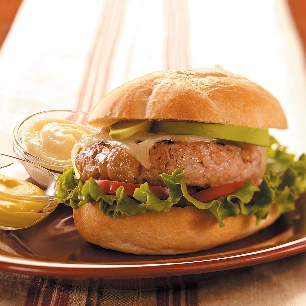 Apple 'n' Pork Burgers Recipe | Taste of Home