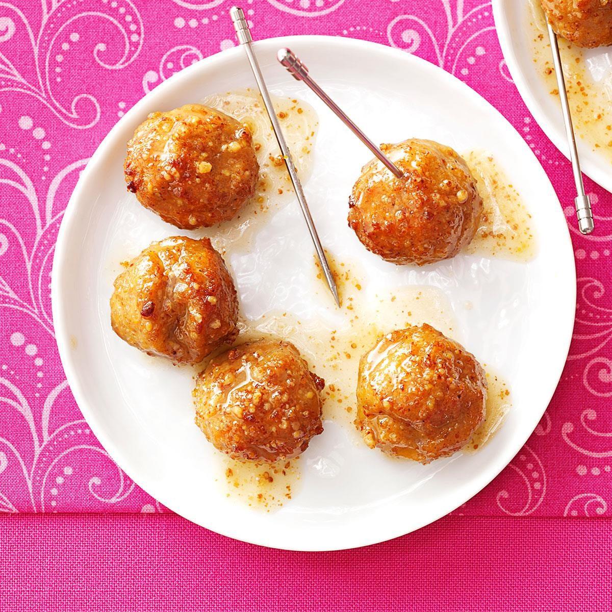 apple meatballs