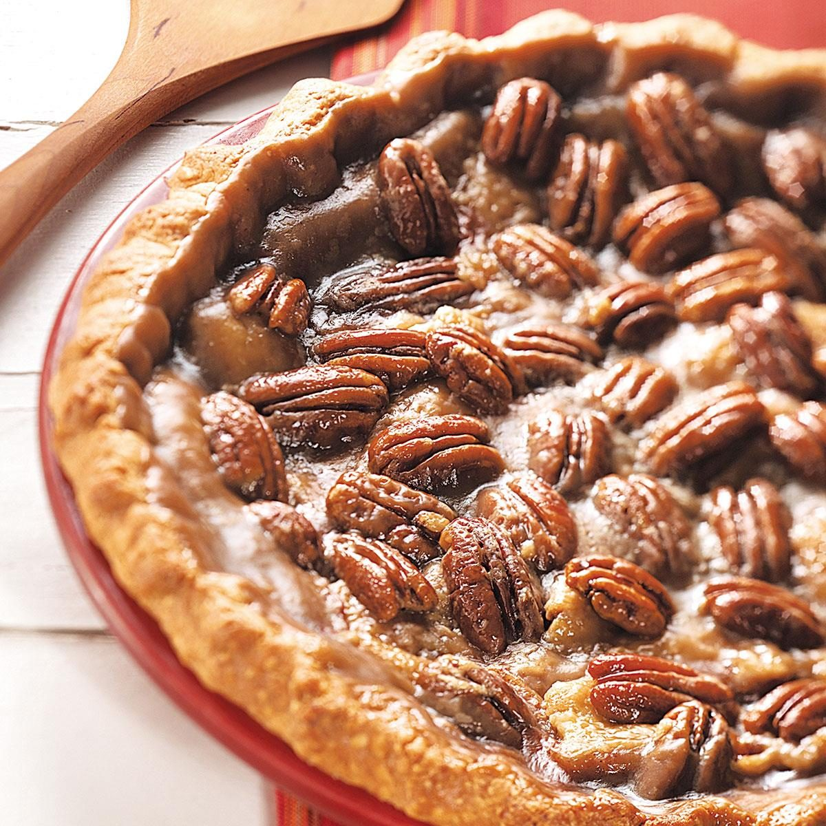 Apple Praline Pie Recipe | Taste of Home