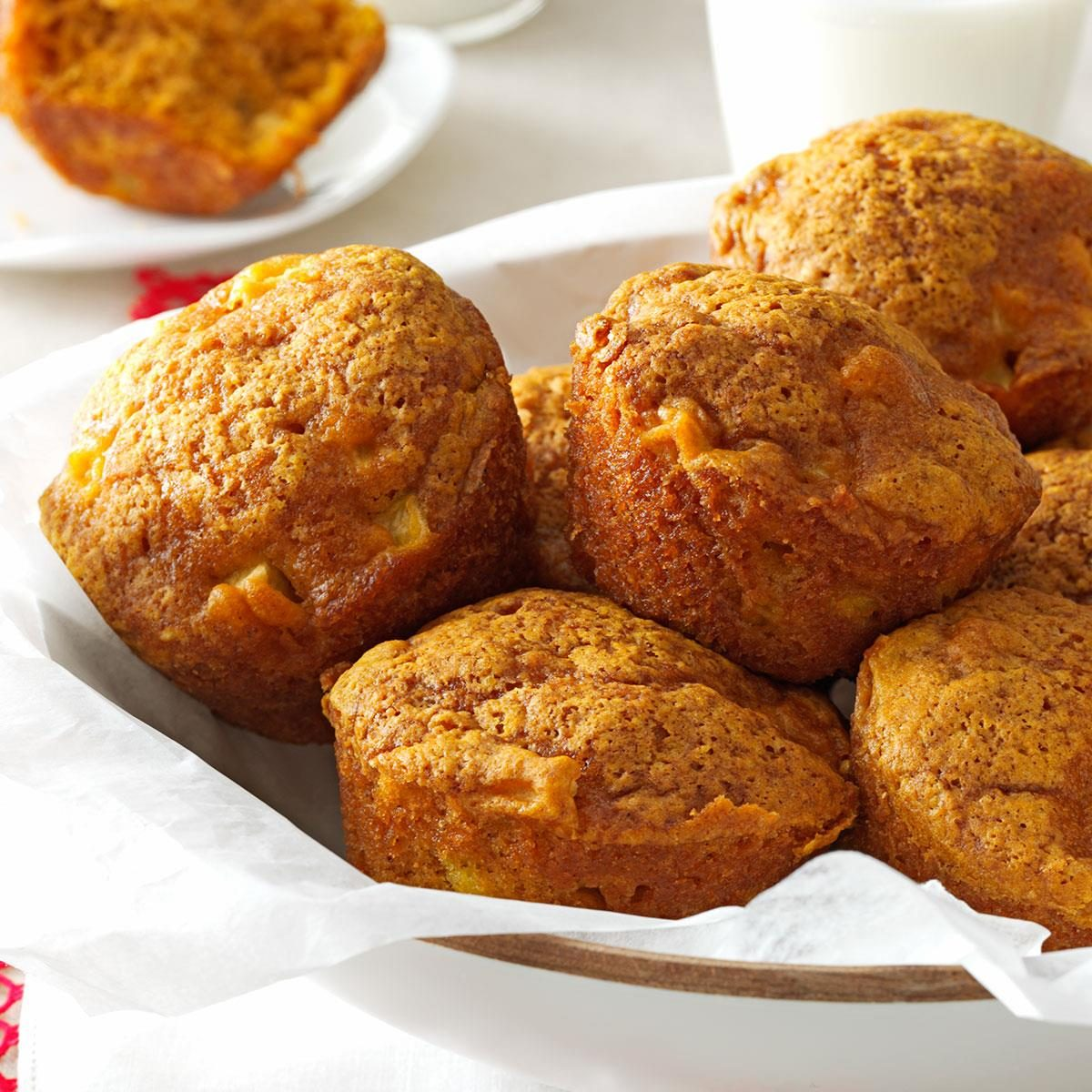 Apple Pumpkin Muffins Recipe | Taste of Home