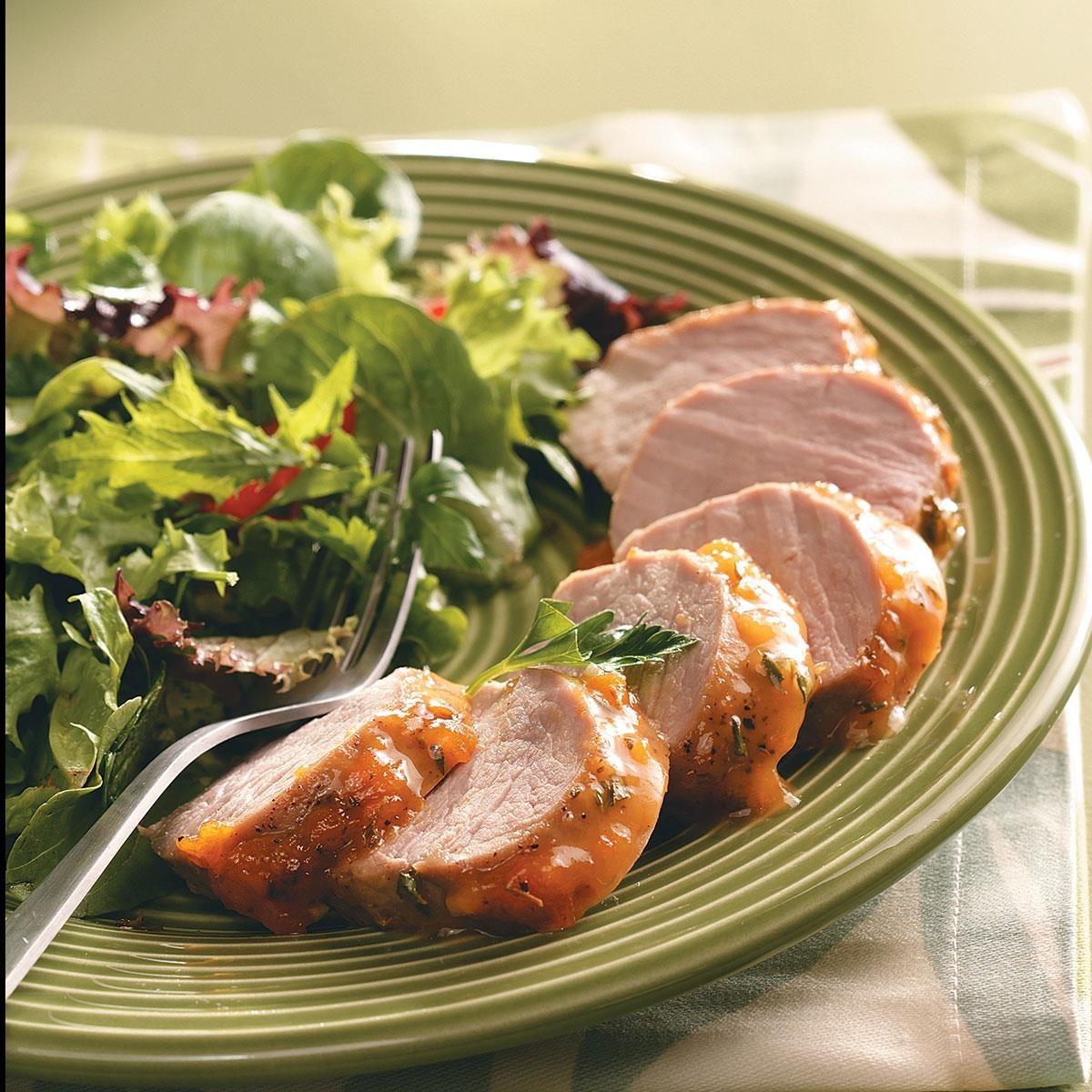 Pork loin apricot sauce recipe